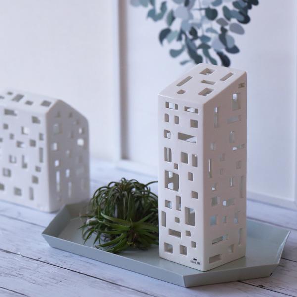 Kahler (ケーラー) Urbania アーバニア キャンドルホルダー アパートメント 北欧/インテリア/日本正規代理店品