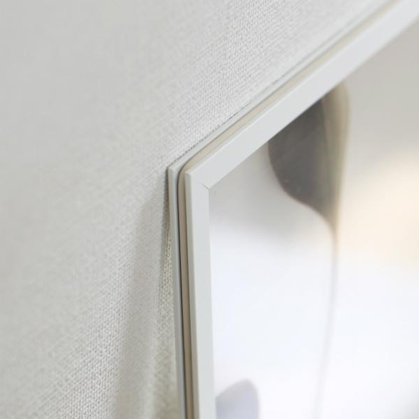 MOEBE (ムーベ) FRAME フレーム A5 ホワイト アクリル板/ポスター/額縁/壁掛け 北欧/インテリア