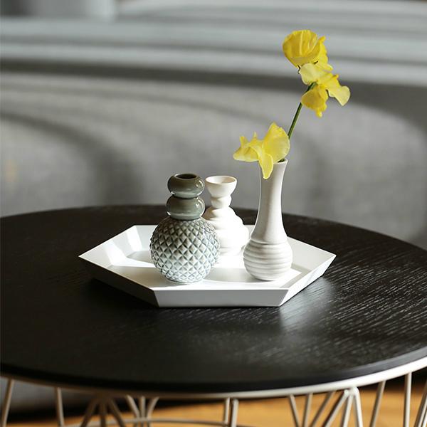 dottir (ドティエ) Samsurium (サムスリアム) ミニベルフラワーベース/3個セット ミニ グレー/ホワイト 北欧/インテリア/花瓶/日本正規代理店品