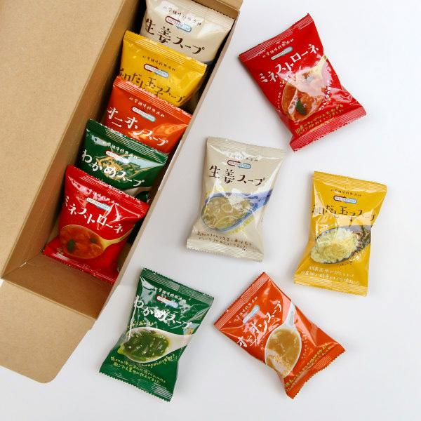 NATURE FUTURe (ネイチャー フューチャー) フリーズドライ厳選スープ 5種10食セット 化学調味料無添加