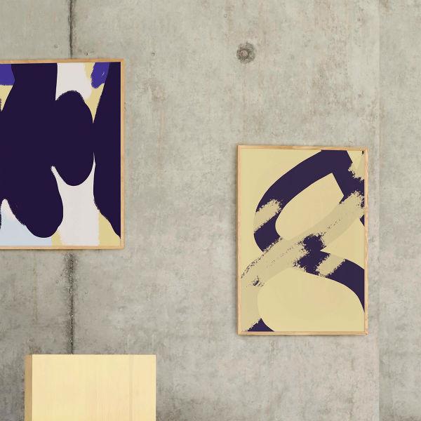 【受注発注】Paper Collective (ペーパーコレクティブ) ポスター 50×70cm Ink Grain 02