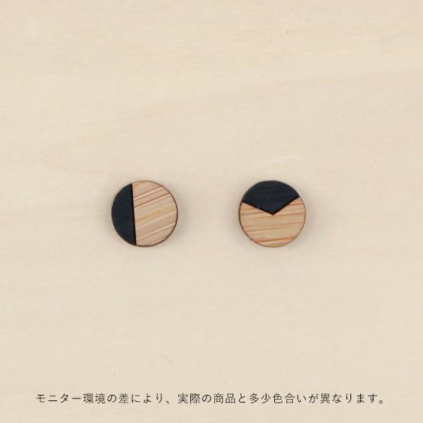 Grundled (グルンドレッド) ピアス Genus ブラック【メール便】