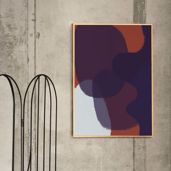 【受注発注】Paper Collective (ペーパーコレクティブ) ポスター 50×70cm Ink Grain 03