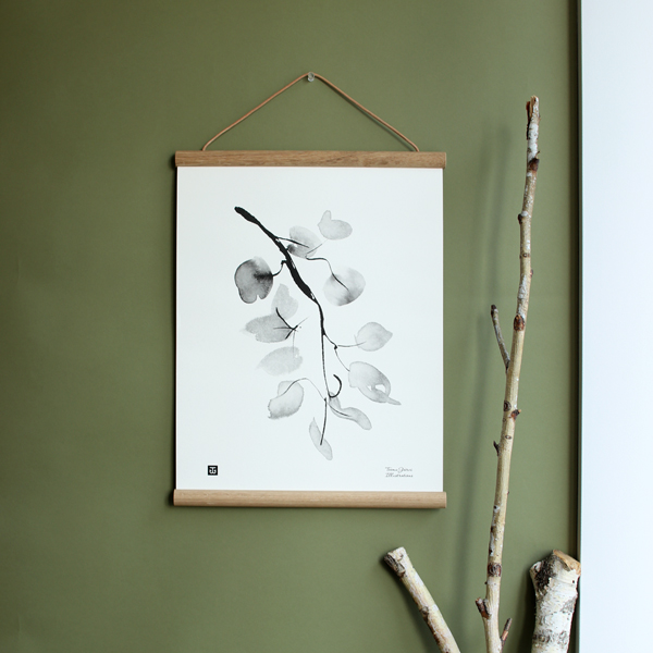Teemu Jarvi (テーム・ヤルヴィ) ポスター 30×40cm BIRCH BRANCH(バーチブランチ)北欧/インテリア
