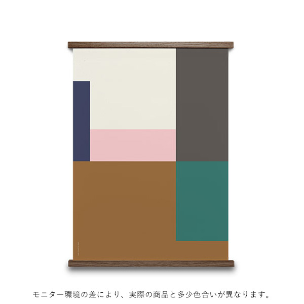 【受注発注】<br>Paper Collective (ペーパーコレクティブ) <br>ポスター 30×40cm <br>Wrong Geometry 03