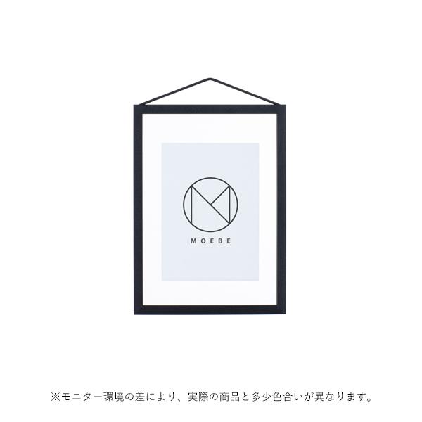 MOEBE (ムーベ) FRAME フレーム A5 ブラック アクリル板/ポスター/額縁/壁掛け