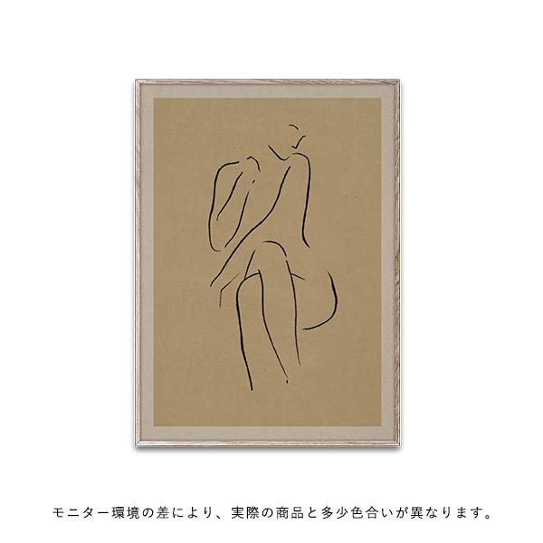 【受注発注】Paper Collective (ペーパーコレクティブ) ポスター 30×40cm Grace I