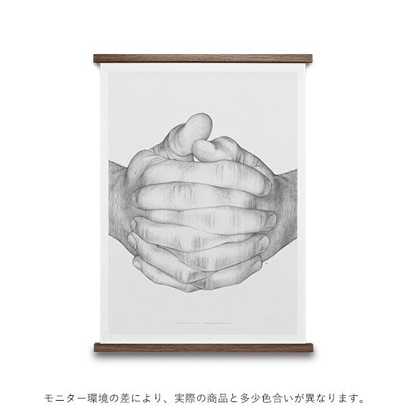 【受注発注】<br>Paper Collective (ペーパーコレクティブ) <br>ポスター 30×40cm <br>Folded Hands