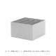 【受注発注】ferm LIVING (ファームリビング)  Plant Box Divider (プラントボックスL/Two Tier専用ディバイダー)  ライトグレー  北欧/インテリア/家具/日本正規代理店品