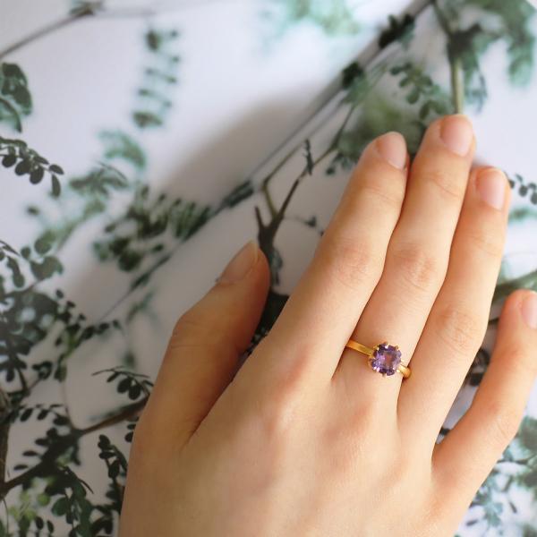 Carre Jewellery (カレ ジュエリー)  リング 52 Gem Candy Cushion ゴールド【ジュエリーボックスプレゼント】