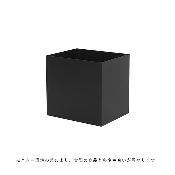 【受注発注】ferm LIVING (ファームリビング)  Plant Box Pot (プラントボックスL/Two Tier専用ポット)  ブラック  北欧/インテリア/家具/日本正規代理店品