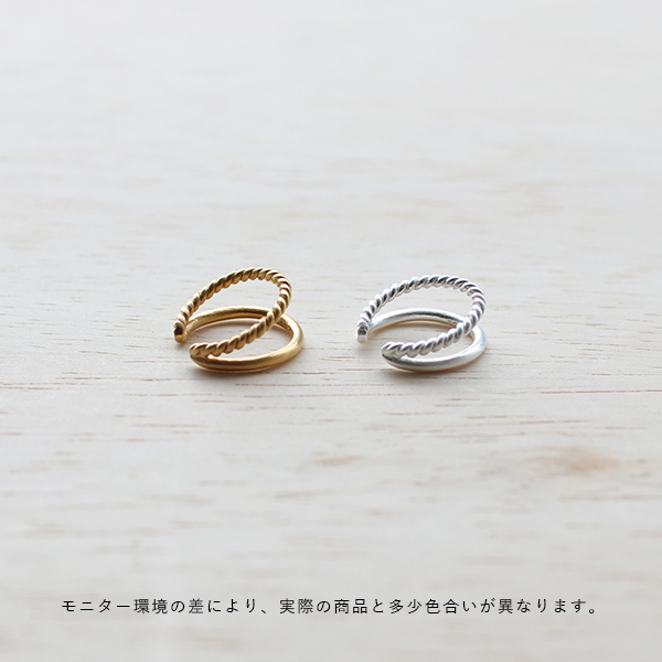 Pernille Corydon (ペニーレ・コリドン) イヤーカフ メイズ ゴールド/シルバー