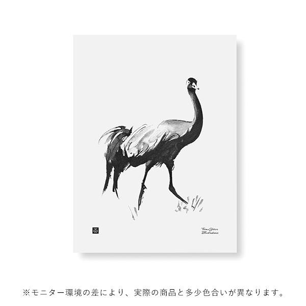 Teemu Jarvi (テーム・ヤルヴィ) ポスター 30×40cm CRANE (クロヅル) 北欧/インテリア