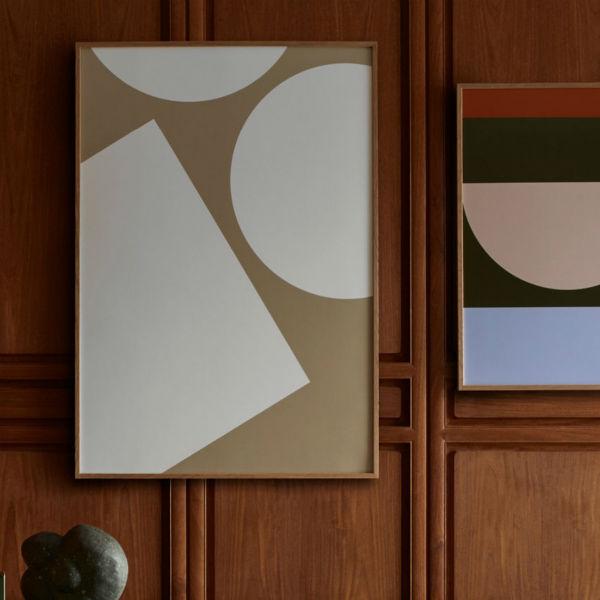 【受注発注】Paper Collective (ペーパーコレクティブ) ポスター 50×70cm Simple Forms I