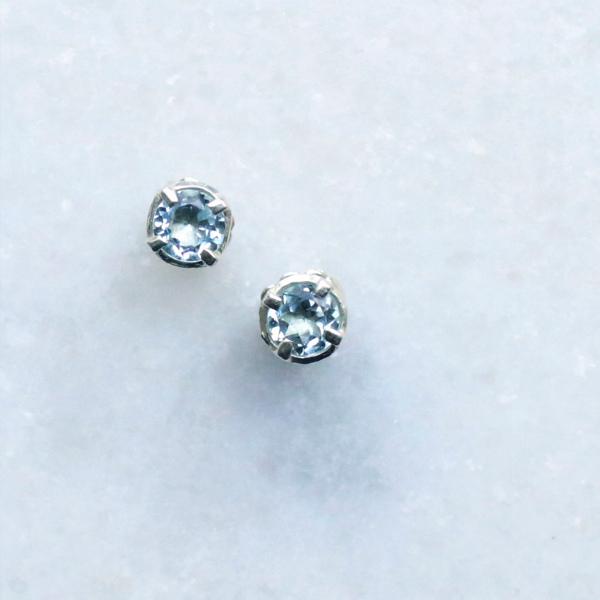 Carre Jewellery (カレ ジュエリー)  ピアス Gem Candy Colour  ブルートパーズ/シルバー【ジュエリーボックスプレゼント】
