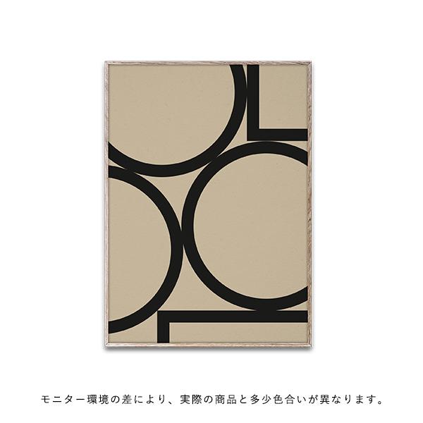 【受注発注】Paper Collective (ペーパーコレクティブ) ポスター 30×40cm Simple Forms II