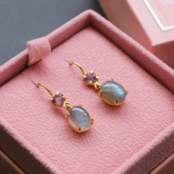 Carre Jewellery (カレ ジュエリー) ピアス【数量限定】 Gem Candy Elegante