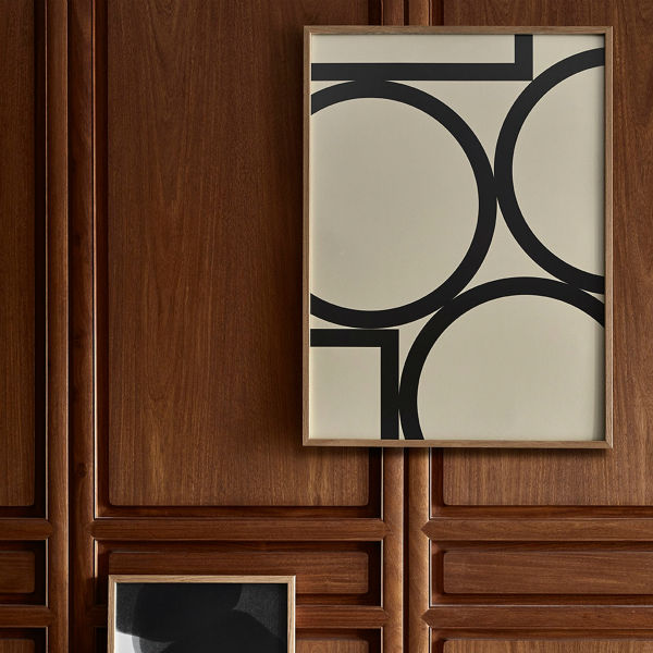 【受注発注】Paper Collective (ペーパーコレクティブ) ポスター 50×70cm Simple Forms II