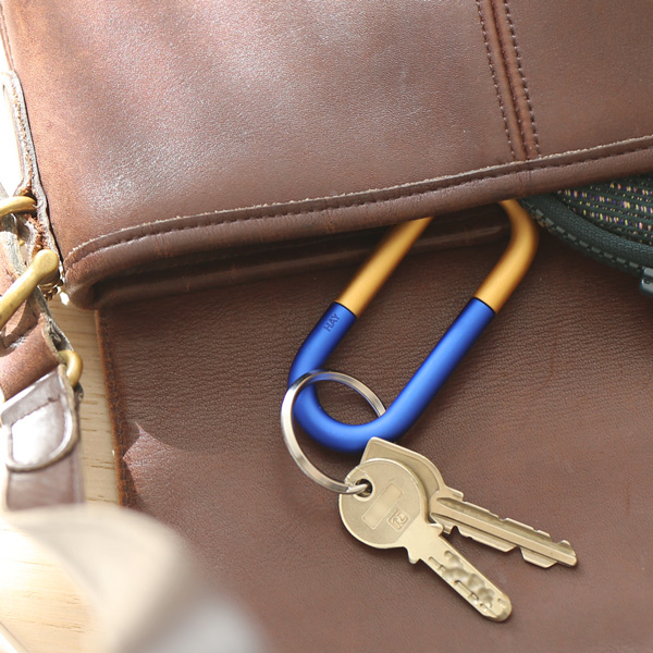 HAY (ヘイ) <br>キーリング <br>Cane Key Ring ブルー