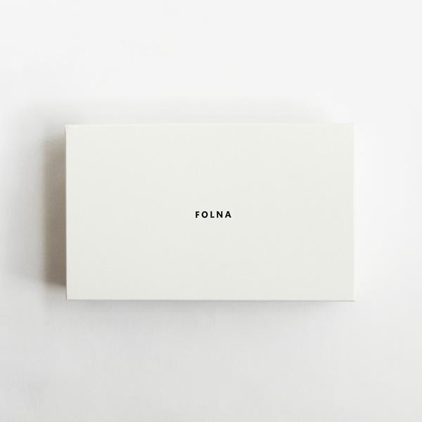 Folna (フォルナ) 長財布 Goat(ゴート) ホワイト/ブルー/グレージュ/ブラック ゴートレザー/本革/日本製