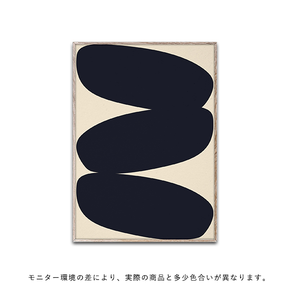 【受注発注】Paper Collective (ペーパーコレクティブ) ポスター 30×40cm Solid Shapes 01