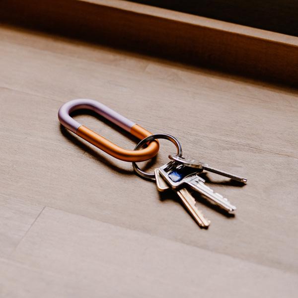 HAY (ヘイ) <br>キーリング <br>Cane Key Ring ライラック