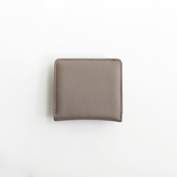 Folna (フォルナ) 二つ折り財布 Goat(ゴート) ホワイト/ブルー/グレージュ/ブラック ゴートレザー/コンパクトウォレット/ミニ財布/本革/日本製
