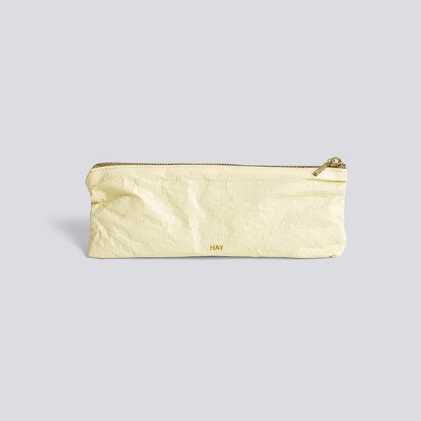 HAY (ヘイ) <br>ジップポーチ S <br>Packing Essentials Zip ソフトイエロー【メール便】