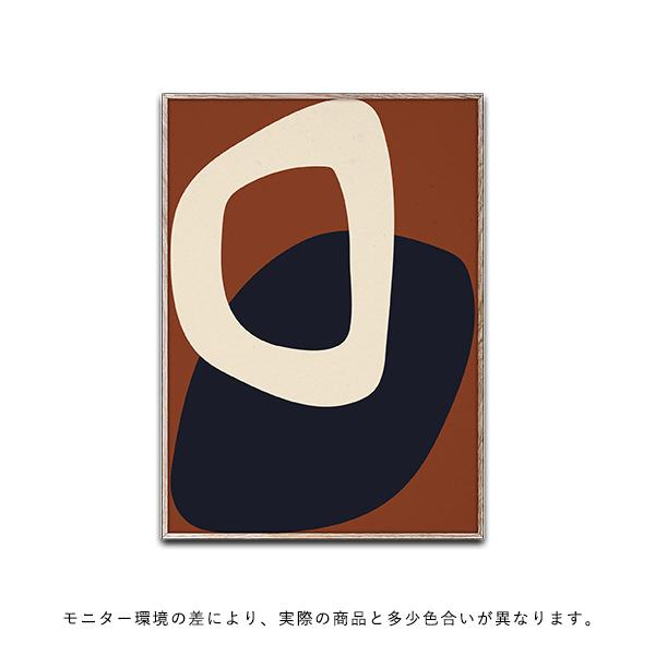 【受注発注】Paper Collective (ペーパーコレクティブ) ポスター 50×70cm Solid Shapes 02