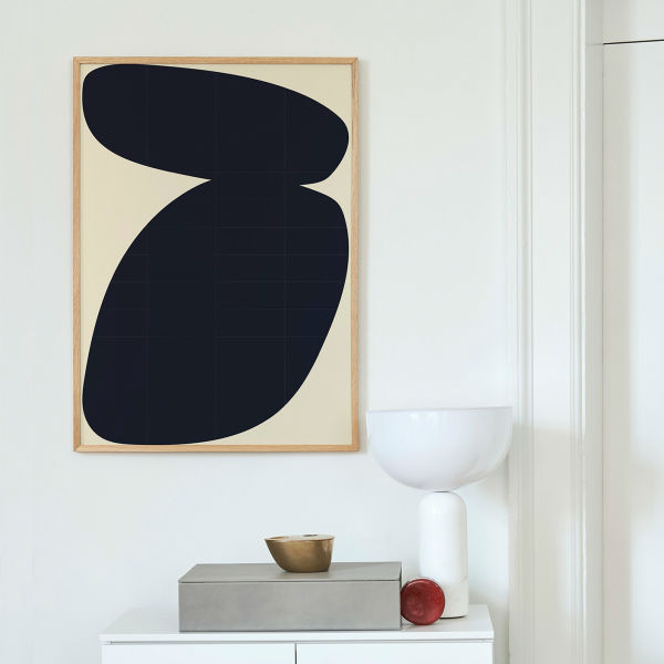 【受注発注】Paper Collective (ペーパーコレクティブ) ポスター 50×70cm Solid Shapes 03