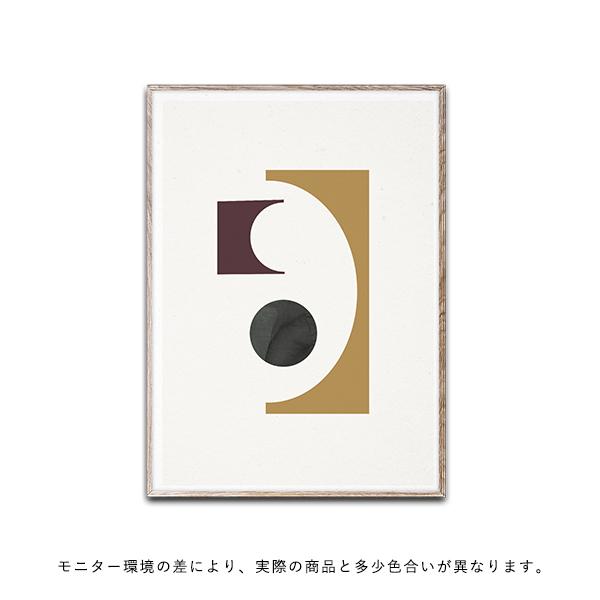 【受注発注】Paper Collective (ペーパーコレクティブ) ポスター 50×70cm Shapes of Colour 01