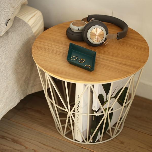 【受注発注】ferm LIVING (ファームリビング) Wire Basket (ワイヤーバスケット) S ライトグレー 北欧/インテリア/家具/日本正規代理店品 【大型送料】