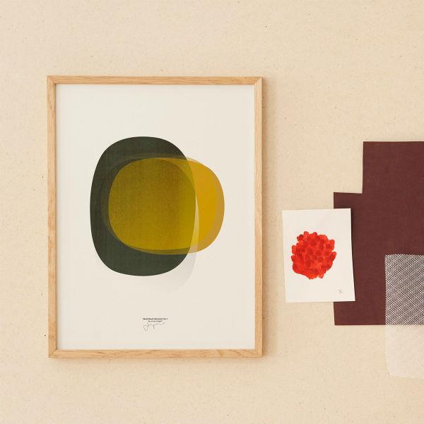 【受注発注】Paper Collective (ペーパーコレクティブ) ポスター 30×40cm Sketchbook Abstracts 01