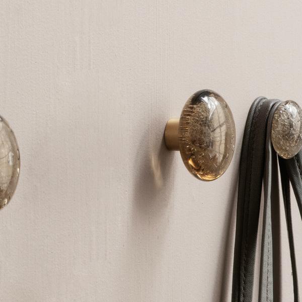 ferm LIVING (ファームリビング) Hook Bubble Glass L(Ø6cm) 北欧/インテリア/日本正規代理店品【受注発注】