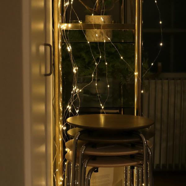 SWAN (スワン電器) Another Garden LED スパークラーフック 2m×10本/3m×6本 クールフラッシュ(昼白色)/フラッシュ(電球色) インテリア/ガーランドライト/イルミネーション