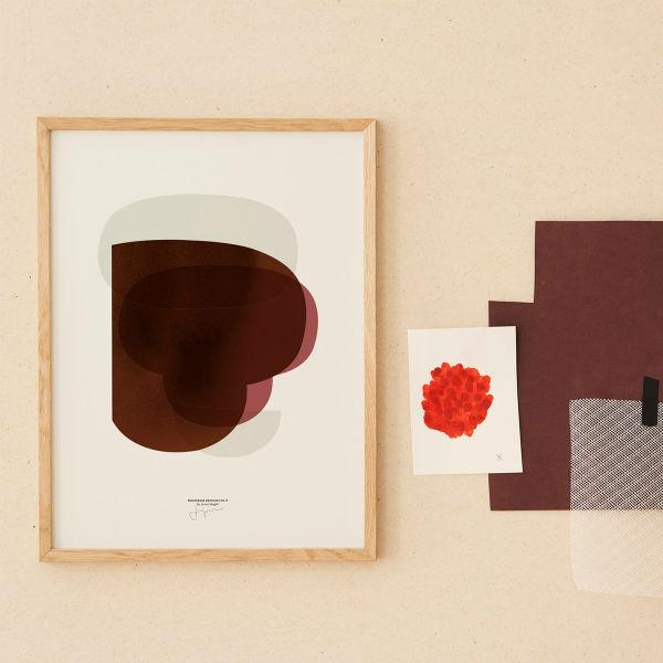 【受注発注】Paper Collective (ペーパーコレクティブ) ポスター 30×40cm Sketchbook Abstracts 02