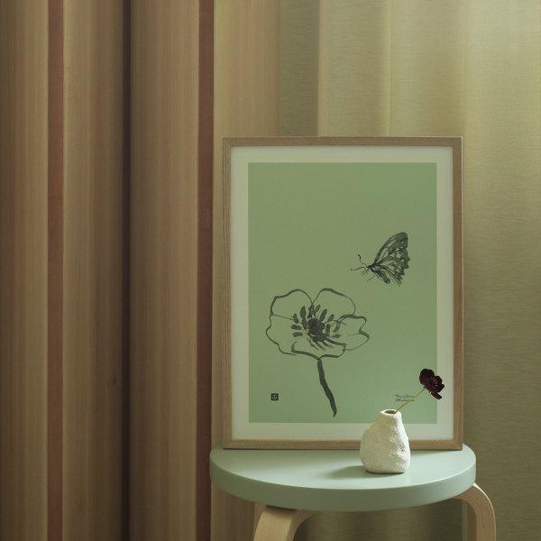 Teemu Jarvi (テーム・ヤルヴィ) ポスター 30×40cm BUTTERFLY(バタフライ) 北欧/インテリア/アート/シンプル/壁掛け