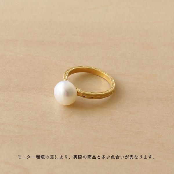 Enamel (エナメル) リング 52 パール ゴールド【メール便】【送料無料】