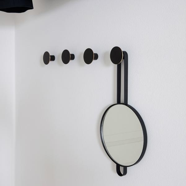 fermLIVING (ファームリビング) Hook Black Brass S(Ø4cm) 北欧/インテリア/日本正規代理店品【受注発注】