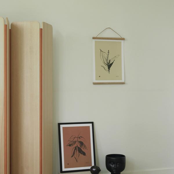 Teemu Jarvi (テーム・ヤルヴィ) ポスター 30×40cm LILY OF THE VALLEY(すずらん) 北欧/インテリア/アート/シンプル/壁掛け