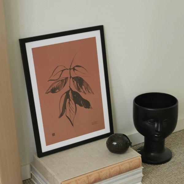 Teemu Jarvi (テーム・ヤルヴィ) ポスター 30×40cm ASH(トネリコ) 北欧/インテリア/アート/シンプル/壁掛け