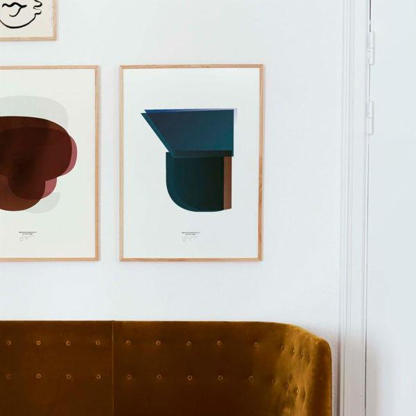【受注発注】Paper Collective (ペーパーコレクティブ) ポスター 50×70cm Sketchbook Abstracts 03