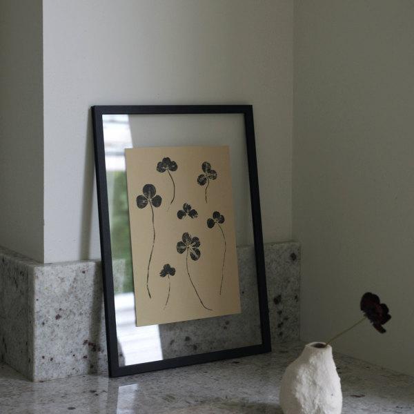 Teemu Jarvi (テーム・ヤルヴィ) ポスター A5(14.8×21cm) CLOVER(クローバー) 北欧/インテリア/アート/シンプル/壁掛け 【メール便】