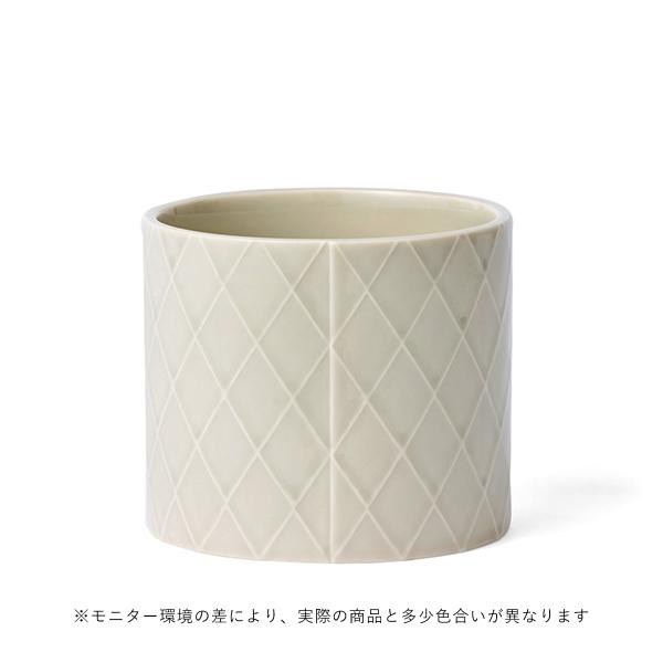 dottir (ドティエ) Pipanella(ピパネラ) フラワーポット M ダイアモンド/ライトグレー 北欧/インテリア/花瓶/日本正規代理店品