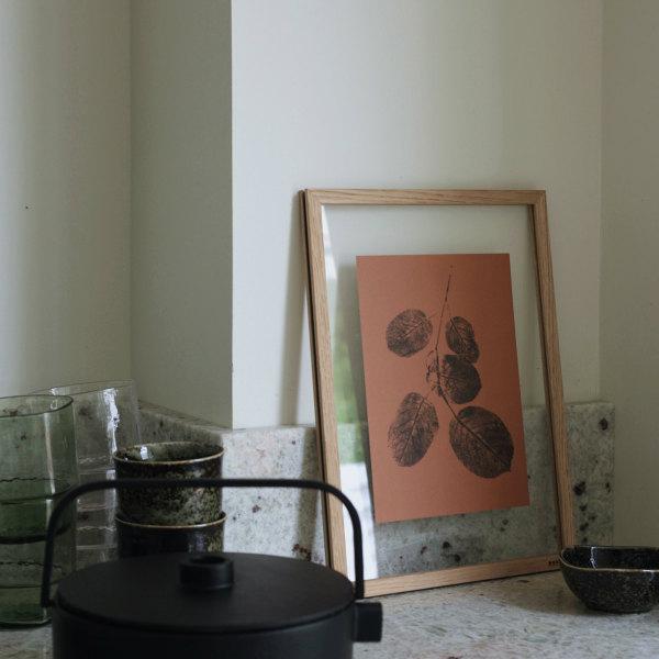 Teemu Jarvi (テーム・ヤルヴィ) ポスター A5(14.8×21cm) GOAT WILLOW(ヤナギ) 北欧/インテリア/アート/シンプル/壁掛け 【メール便】