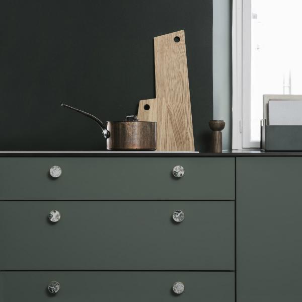 fermLIVING (ファームリビング) Hook Brass Stone L(Ø4cm) 北欧/インテリア/日本正規代理店品【受注発注】