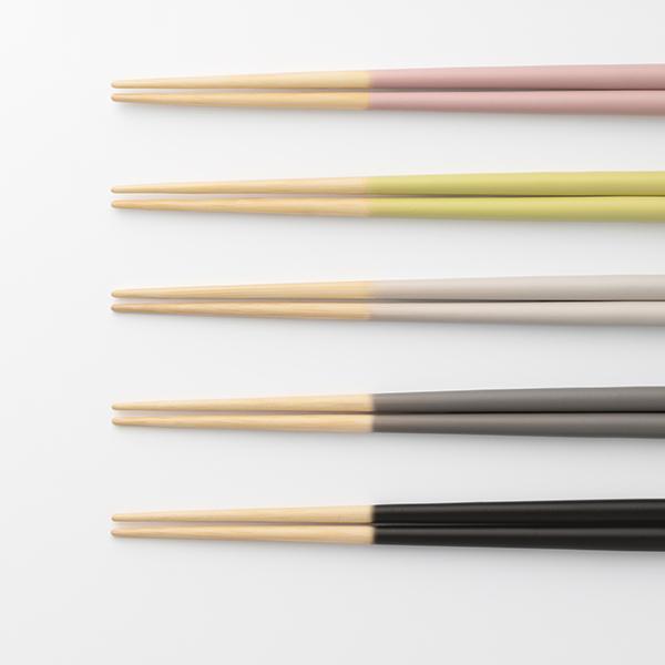 STIIK KIDS (スティック キッズ) 箸/はし(1膳入り) セラミックグレー カトラリーのような箸/一年箸/竹製/お弁当用/子ども用 【メール便】