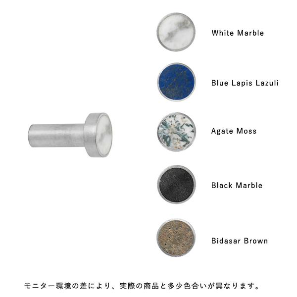 fermLIVING (ファームリビング) Hook Steel Stone S(Ø2cm) 北欧/インテリア/日本正規代理店品【受注発注】