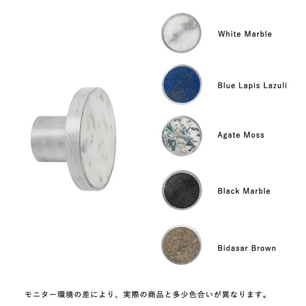 fermLIVING (ファームリビング) Hook Steel Stone L(Ø4cm) 北欧/インテリア/日本正規代理店品【送料無料】【受注発注】