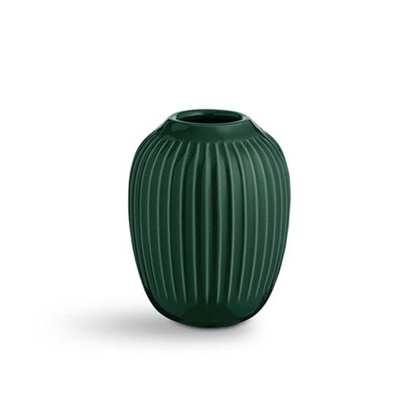 【30%OFF】Kahler (ケーラー) ハンマースホイ フラワーベース ミニ グリーン 日本正規代理店品